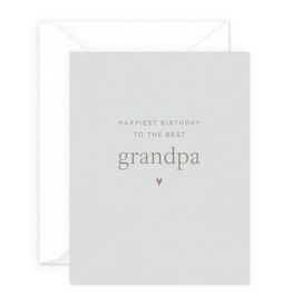 Smitten on Paper Grandpa Birthday Greeting Card