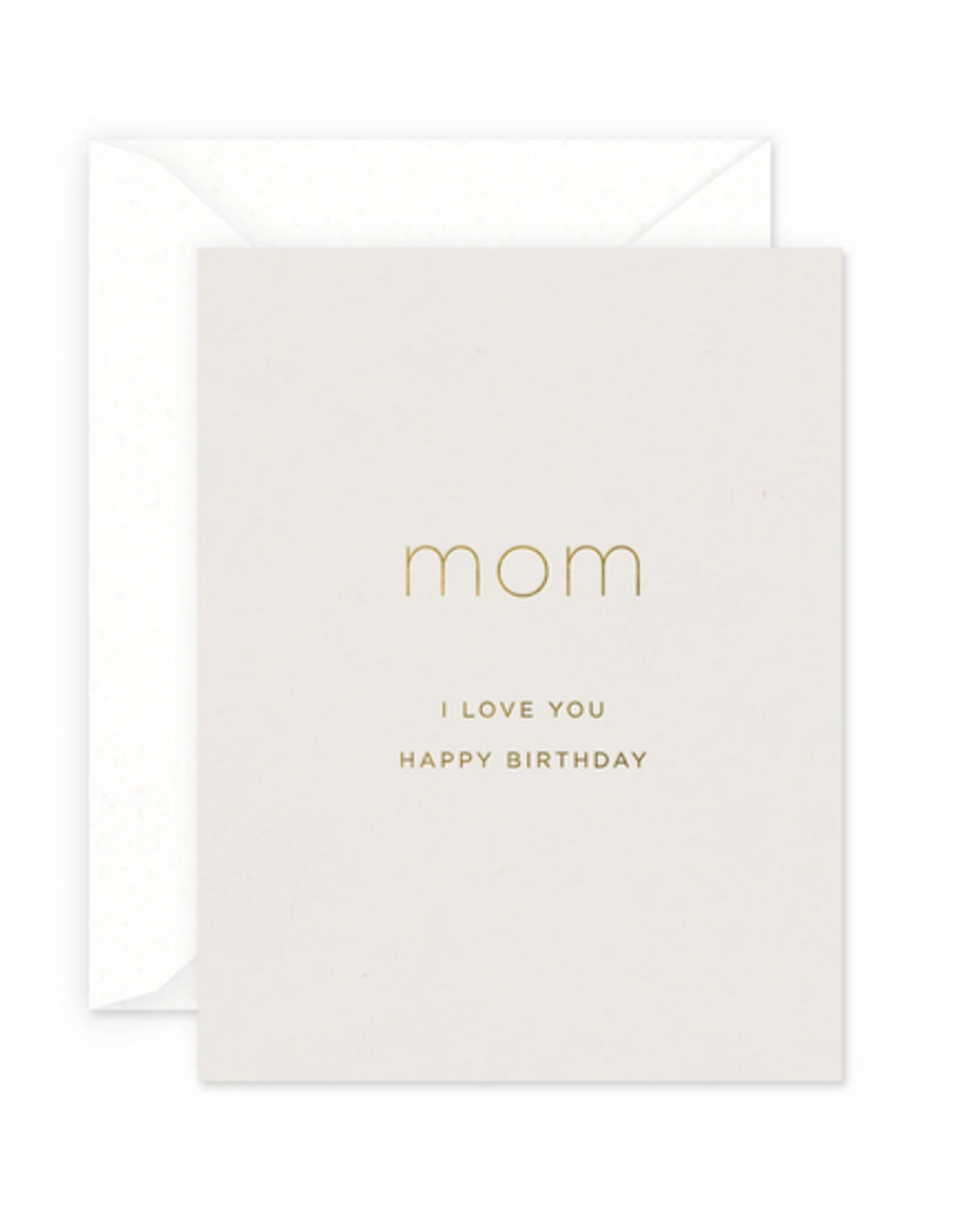 Smitten on Paper Mom Birthday Greeting Card