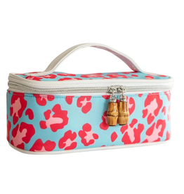 TRVL Design Getaway Bag in Leopard Pink