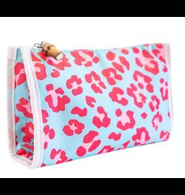 TRVL Design Day Tripper Bag in Leopard Pink