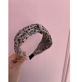 Knot Headband in Paisley