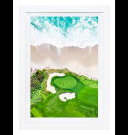 Gray Malin Hole 10, Pebble Beach Mini by Gray Malin 10x13.5