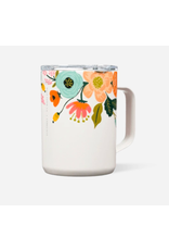 Corkcicle Coffee Mug 16oz in Gloss Cream Lively Floral