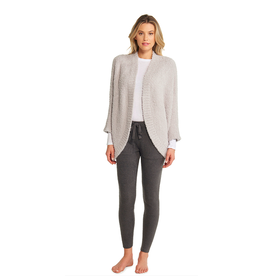Barefoot Dreams CozyChic Shrug in Oyster