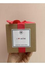 I Heart Mom Candle
