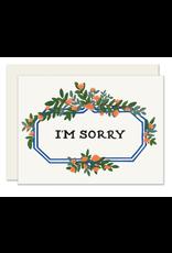 Slightly Stationery Leafy Marquee Card