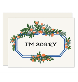 Slightly Stationery Leafy Marquee Card