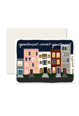 Slightly Stationery Apartment Sweet Apartment Card