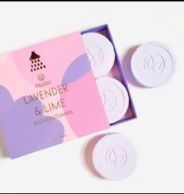 Musee Lavender & Lime Shower Steamer