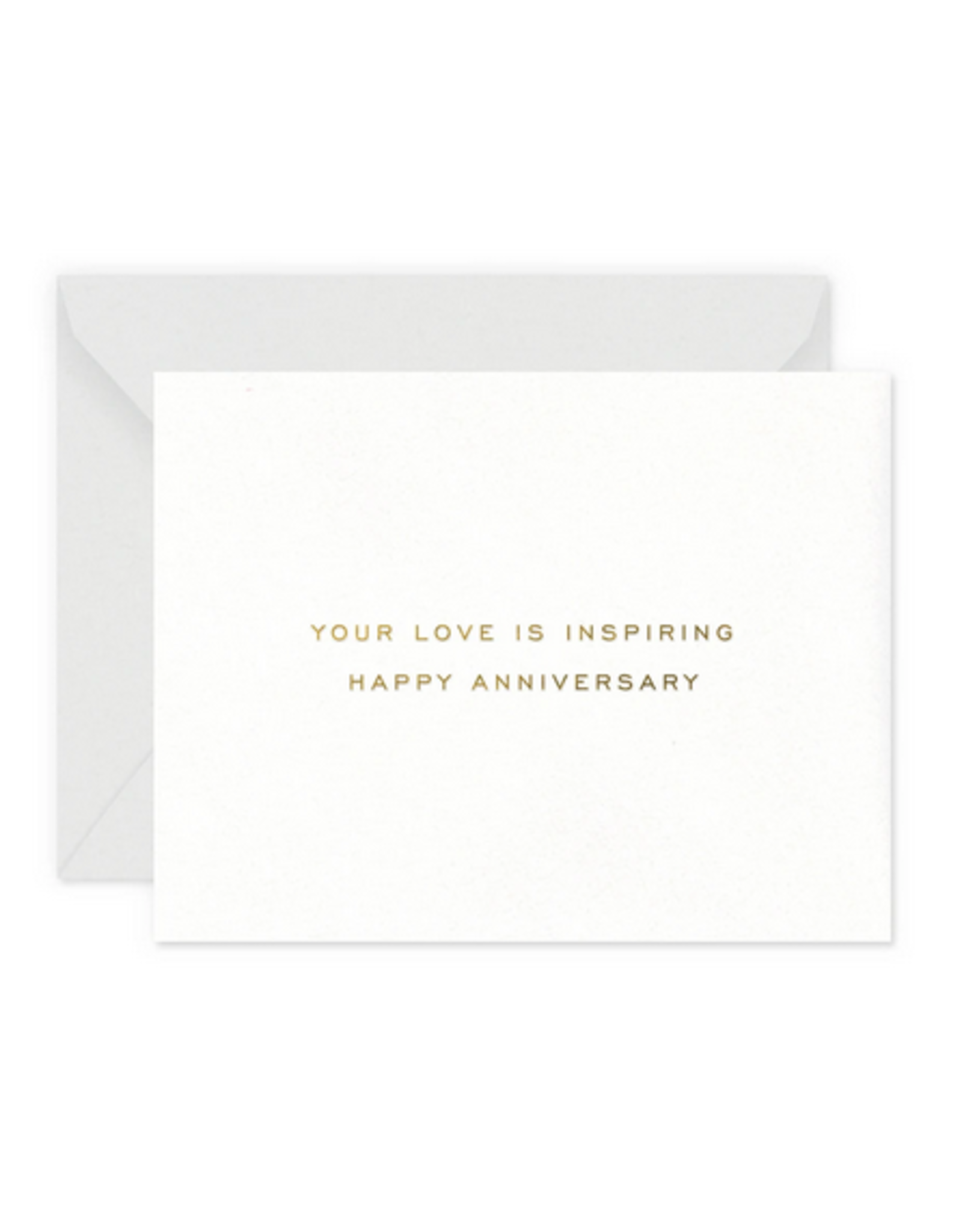 Smitten on Paper Inspiring Anniversary Greeting Card