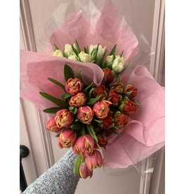Valentine's Day Tulip Bunch in Assorted Colors