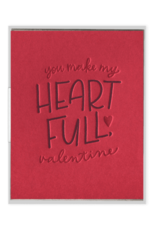 Heart Full Valentine Card