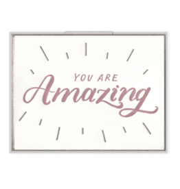 Ink Meets Paper You Are Amazing Card