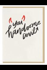 Dahlia Press Handsome Devil Card