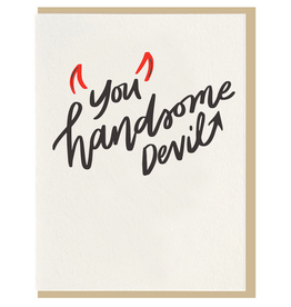 Dahlia Press Handsome Devil Card