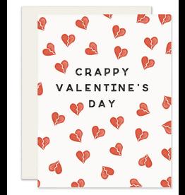 Slightly Stationery Crappy Valentine's Day Card