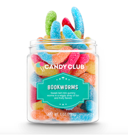 Candy Club BookWorms Candy Jar
