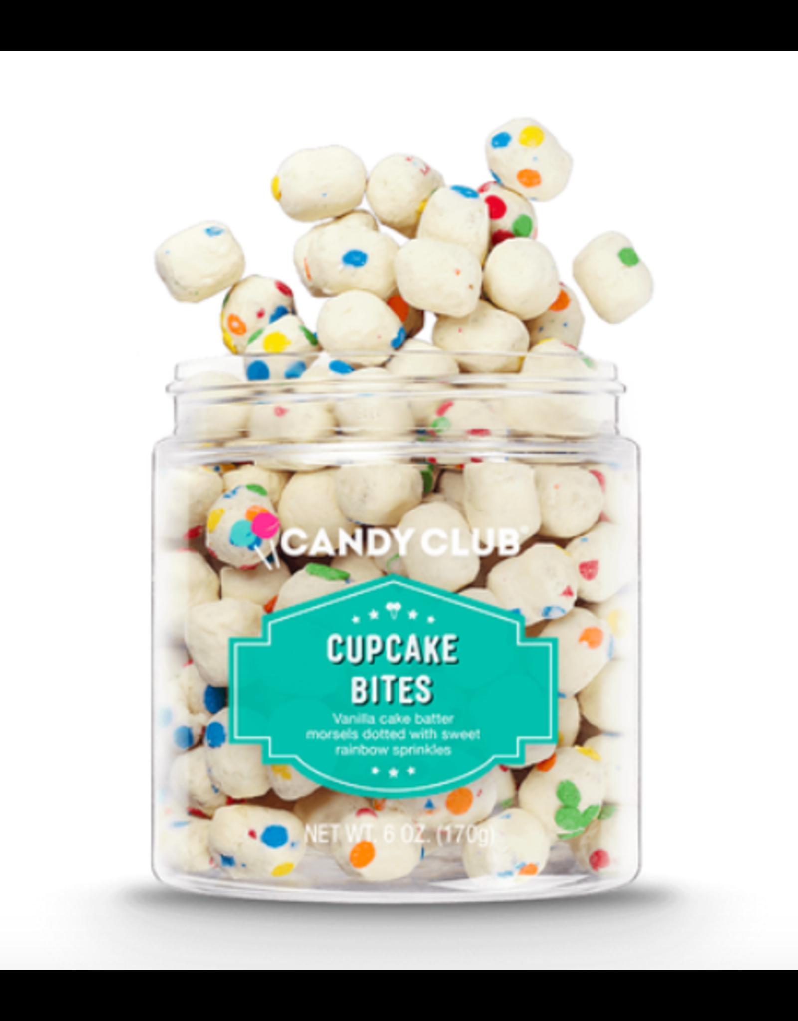 Candy Club Cupcake Bites Candy Jar