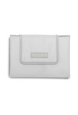 Katie Loxton Quick Change Baby Organizer with Changing Mat in Warm Gray