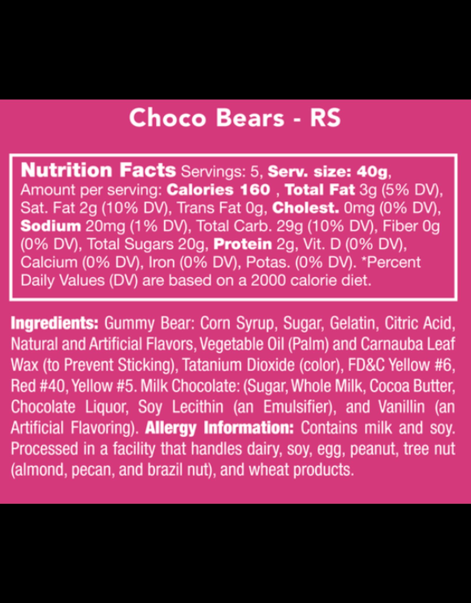 Candy Club Choco Bears Candy Jar