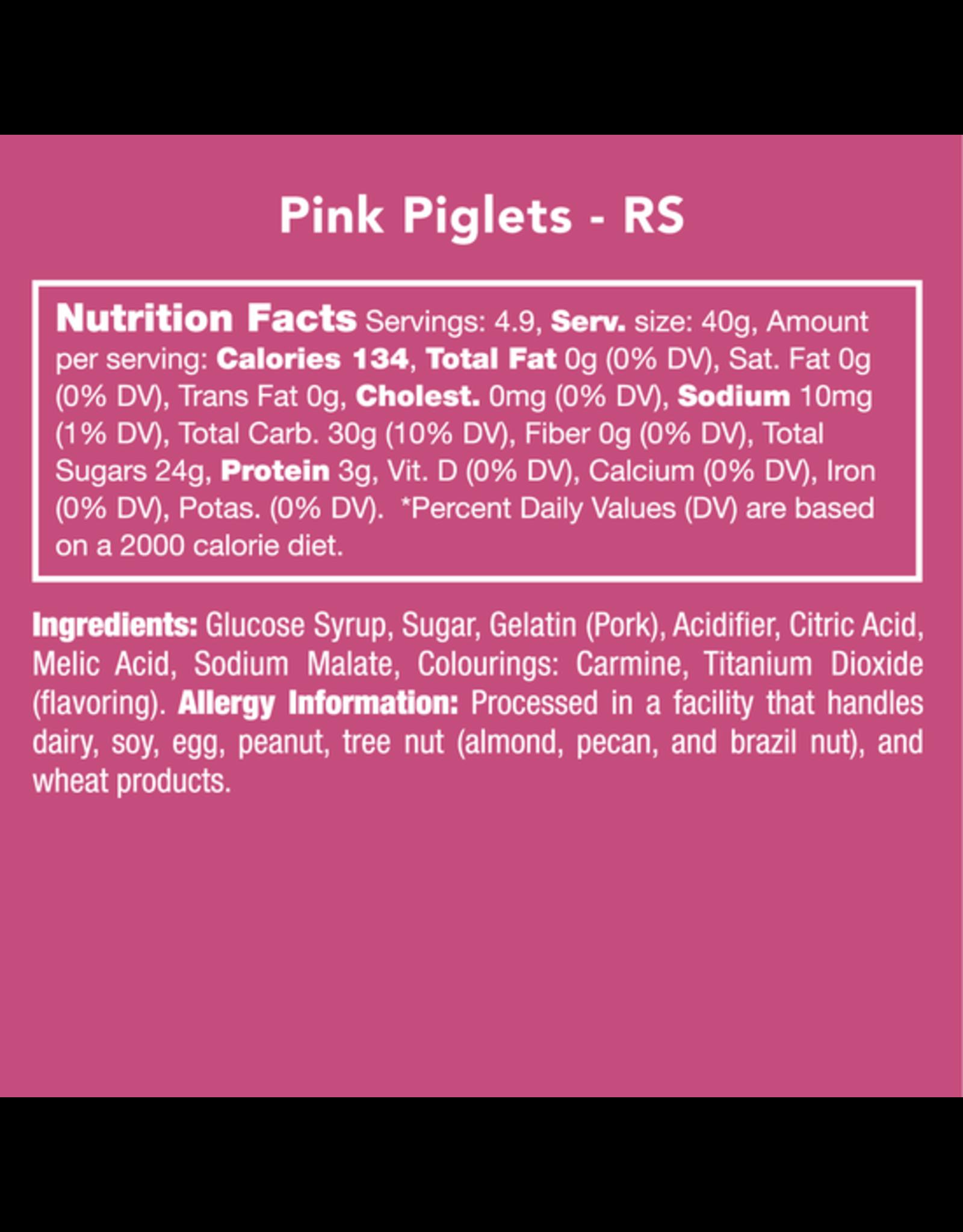 Candy Club Pink Piglets Candy Jar