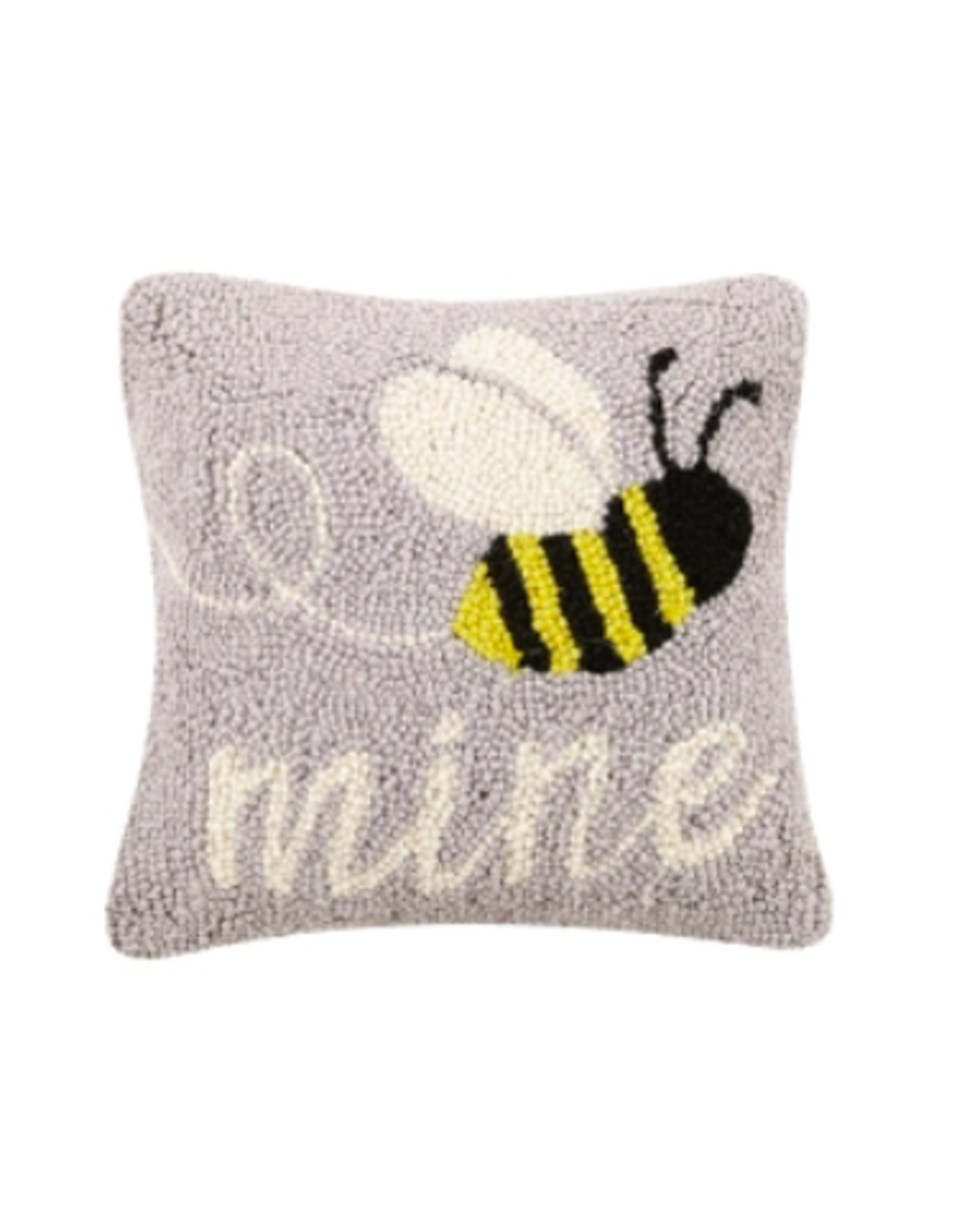 Peking Handicraft Bee Mine Hooked Pillow