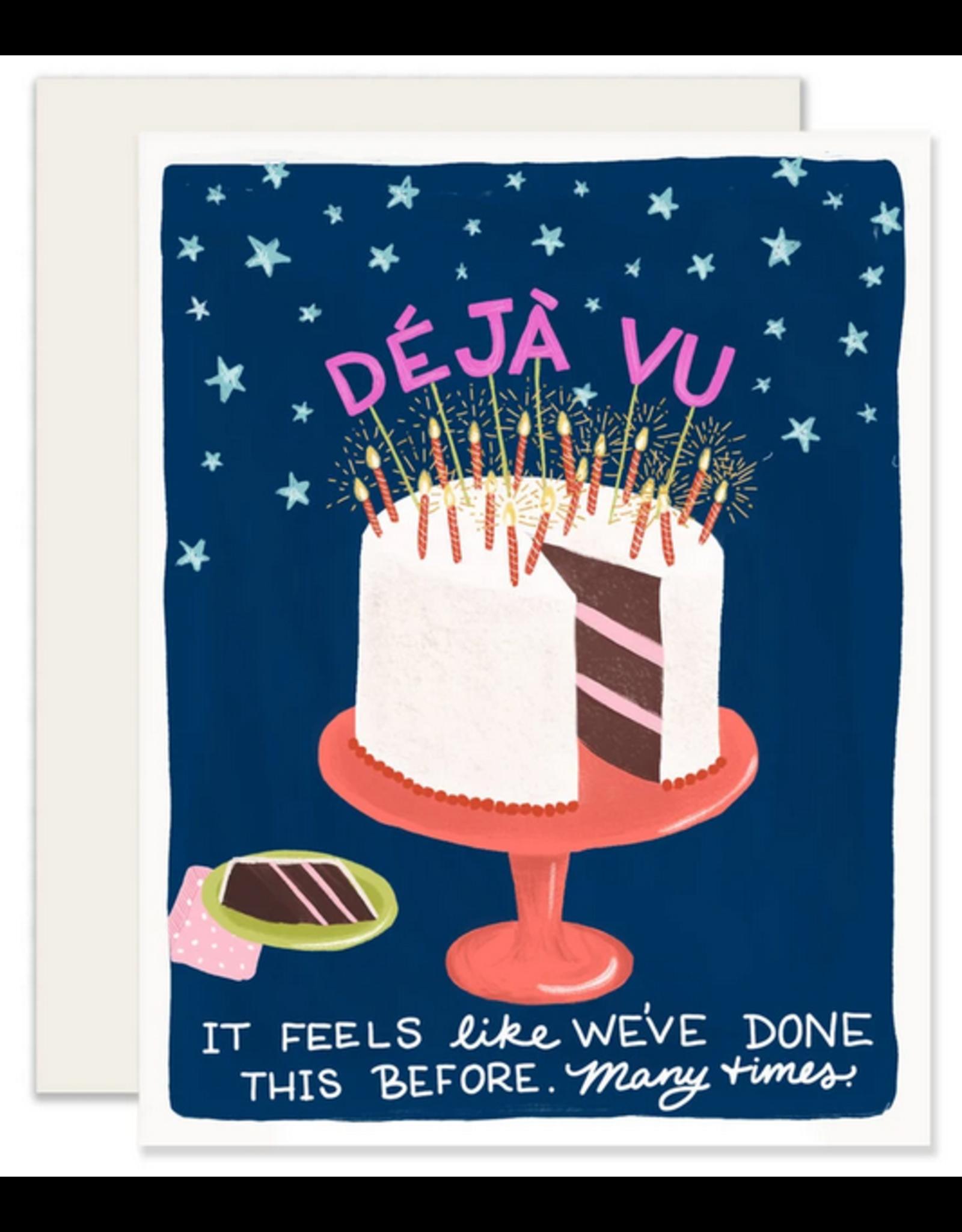 Slightly Stationery Deja Vu Card