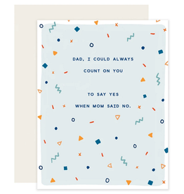 Slightly Stationery Count on You Card