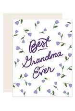 Grandma Flowers Card