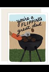 Flipping Great Dad Card