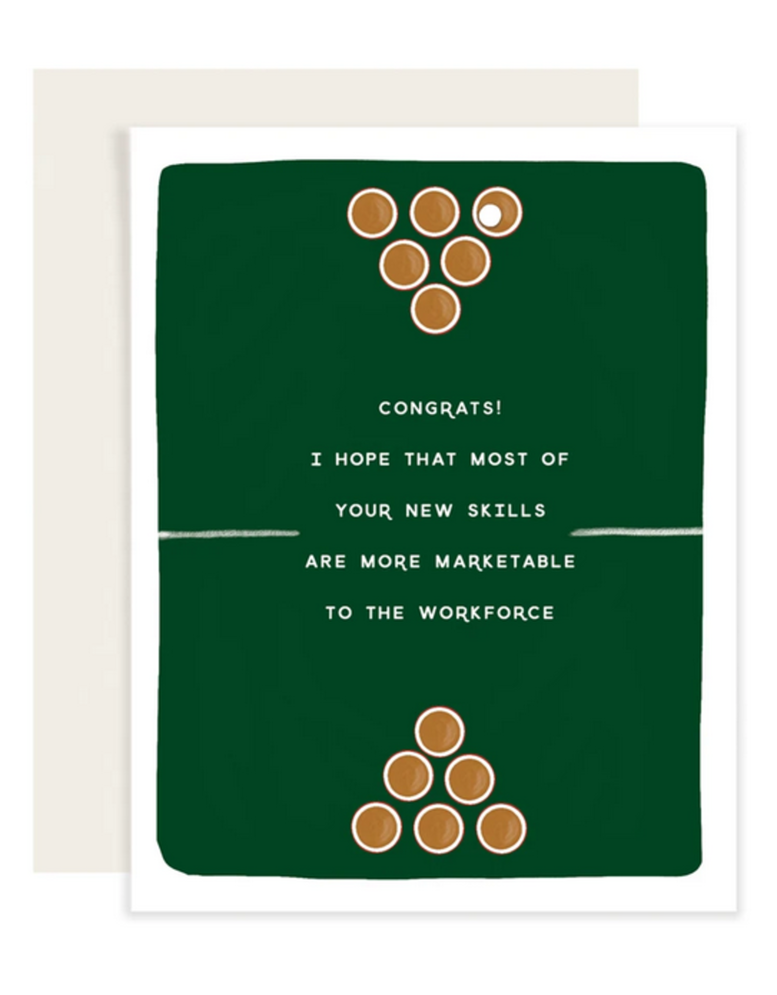 Beer Pong Card
