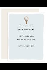 Slightly Stationery Good Looks Card