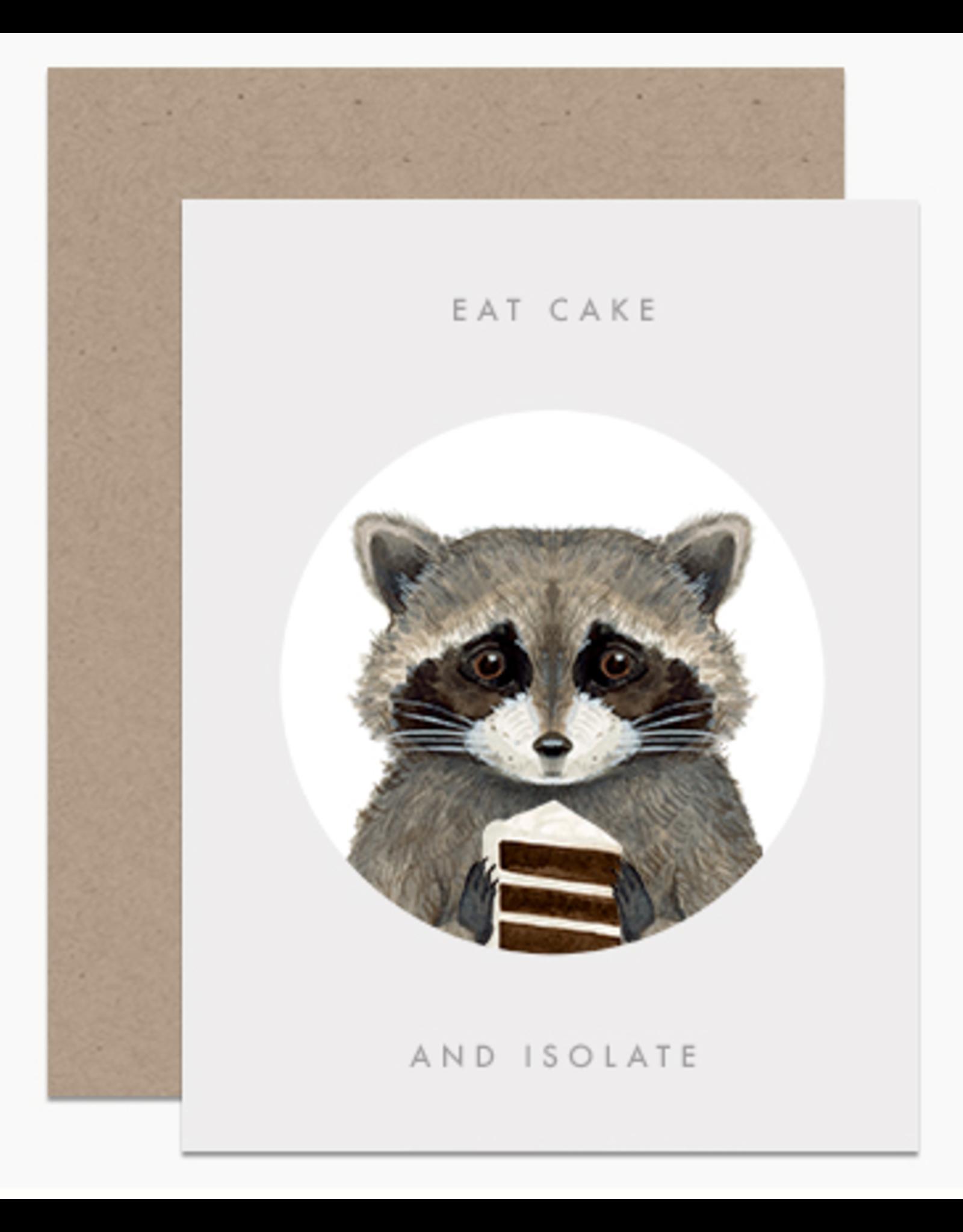 Dear Hancock Eat Cake and Isolate Card