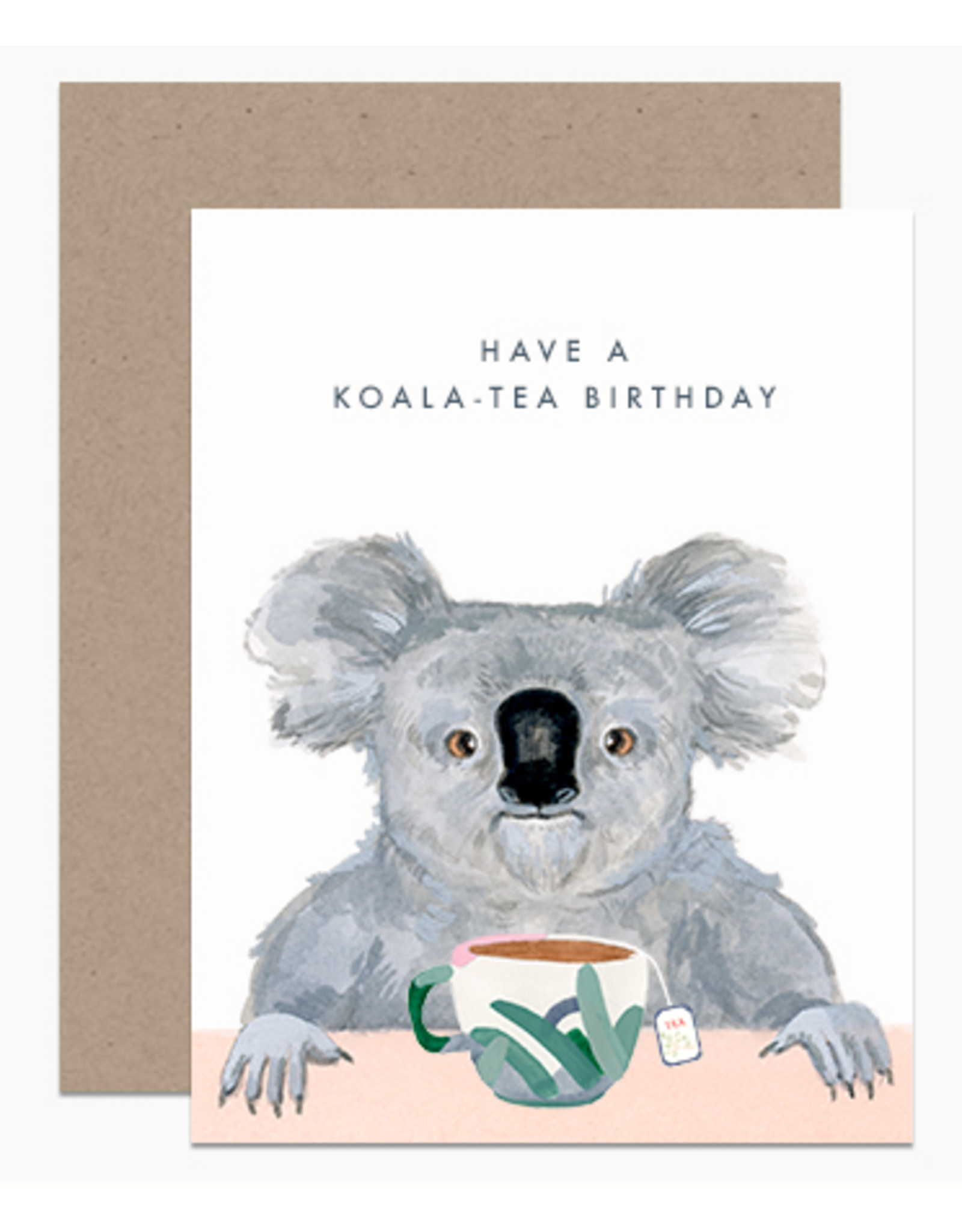 Dear Hancock Support the Koalas Card