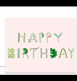 Dear Hancock Cactus and Succulent Letters Card