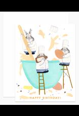 Dear Hancock Bunny Cooks Card
