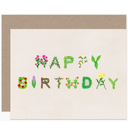 Dear Hancock Happy Birthday Natural Card
