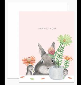 Dear Hancock Bunny Arranging Protea