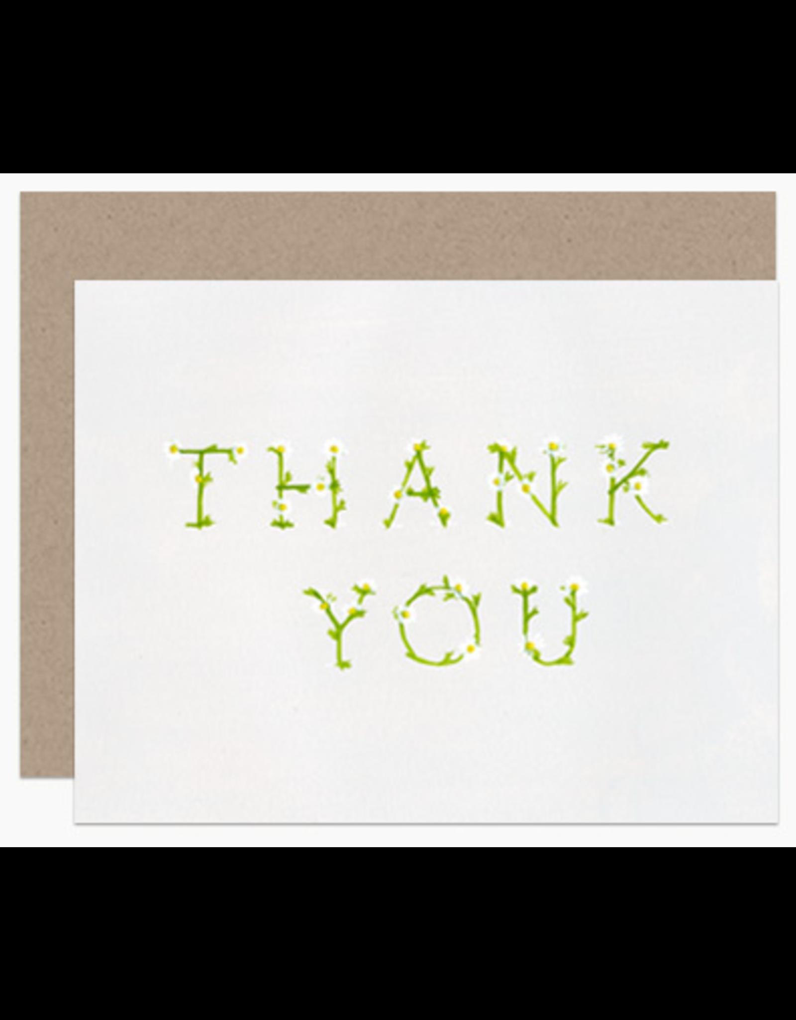 Dear Hancock Thank You in Daisies Card