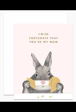 Dear Hancock Fortunate Mom Card