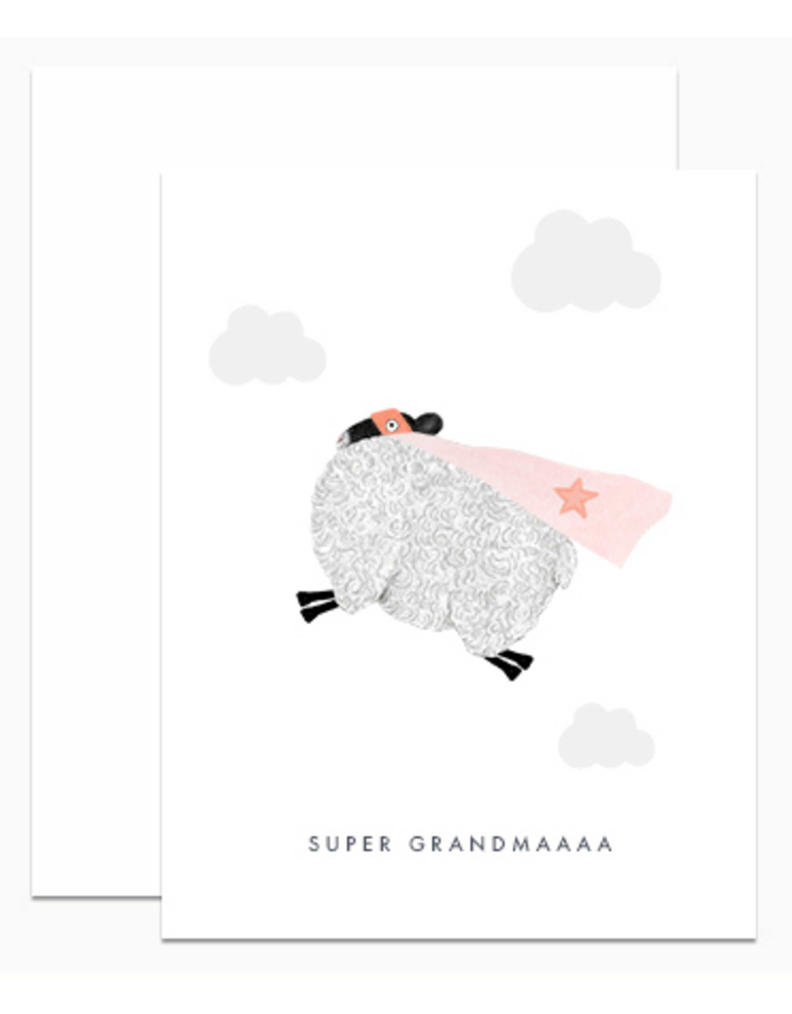 Dear Hancock Super Grandmaa Card