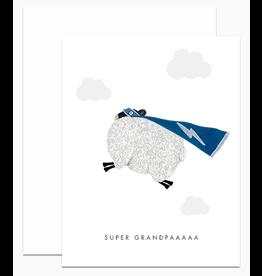 Dear Hancock Super Grandpaa Card