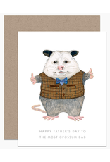 Dear Hancock Most Oppossum Dad Card