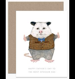 Dear Hancock Most Oppossum Dad Card