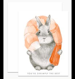 Dear Hancock Shrimply The Best Card
