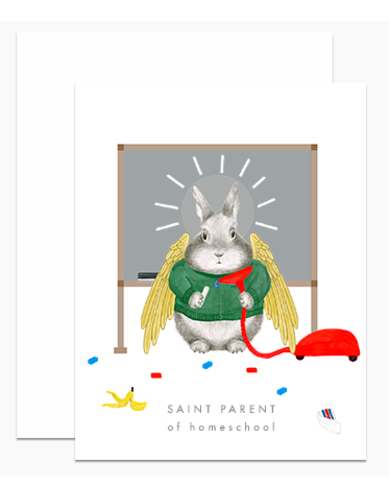 Dear Hancock Saint Parent Homeschool Card