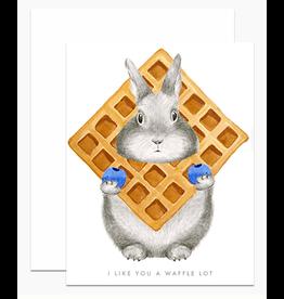 Dear Hancock I Like You a Waffle Lot Card