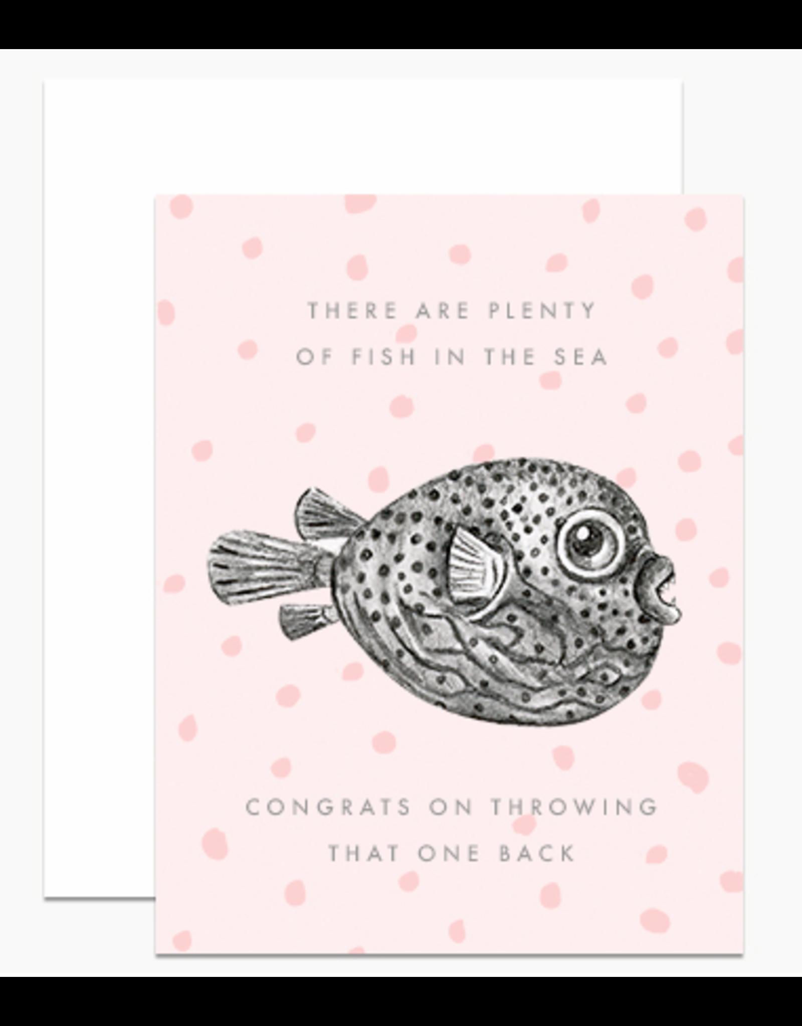 Dear Hancock Plenty of Fish Card