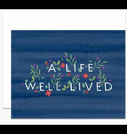 Dear Hancock A Life Well Lived Card