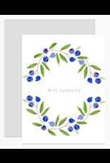 Dear Hancock Sympathy Blueberries Card